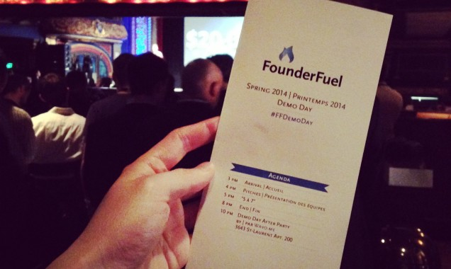 Kai Design FounderFuel Demo Day Pamphlet