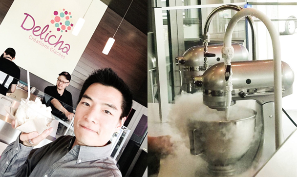 Kai Design Delicha Montreal liquid nitrogen ice cream
