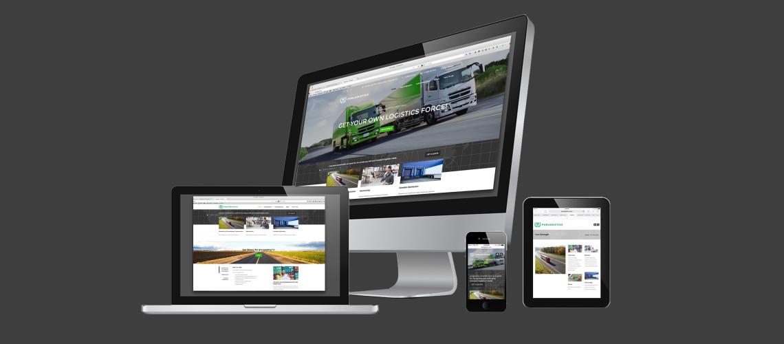 Purlogistic-Kai-Design-website portfolio Montreal customized wordpress
