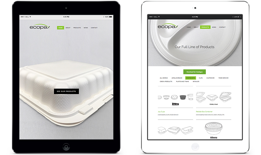 Kai-Design-Montreal-Graphic-Studio-Ecopax-Website